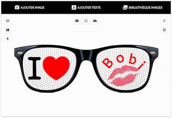 tuto comment cr er vos lunettes gr ce notre outil lunettes personnalis es. Black Bedroom Furniture Sets. Home Design Ideas
